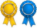 Award rosettes Royalty Free Stock Photography