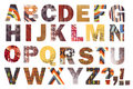 Awesome Abstract Alphabet! Stock Photo
