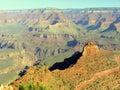 Awesome South Rim of Grand Canyon, Arizona, USA Royalty Free Stock Photo