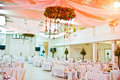 Awesome wedding hall Royalty Free Stock Photo