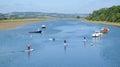 The Axe Estuary Royalty Free Stock Photo