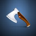 Axe tool this is file of eps format Royalty Free Stock Photography