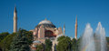 Aya Sophia panoramic view Royalty Free Stock Photo