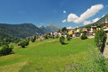 Ayas Valley, Aosta, Italy Royalty Free Stock Photo