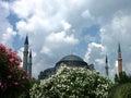 Ayasofia mosque Stock Images