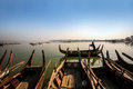 Ayeyarwady river myanmar view of Stock Photography