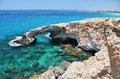 Ayia napa cyprus rock arch Royalty Free Stock Photography