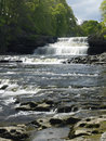 Aysgarth falls wensleydale yorkshire dales in in the in northeast england Stock Photo