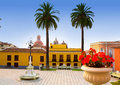 Ayuntamiento square in La Orotava Tenerife Stock Photo