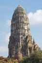 Ayutthaya thailand asia wat ratchaburana southeast Royalty Free Stock Images