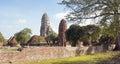 Ayutthaya thailand asia wat ratchaburana southeast Royalty Free Stock Photos