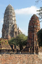 Ayutthaya thailand asia wat ratchaburana southeast Stock Photography
