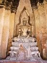 Ayutthaya : World heritage Royalty Free Stock Photo