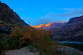Az grand canyon s rim s bass trail national park this image was captured at sunset down on the colorado river at the end of the Stock Photo