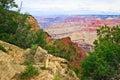 AZ-Grand Canyon-S Rim-W Rim Trail Royalty Free Stock Images