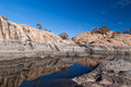 AZ-Prescott- Granite Dells-Willow Lake Royalty Free Stock Photo