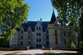 Azay-le-Rideau Castle Royalty Free Stock Photography