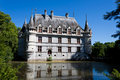 Azay-le-Rideau Castle Stock Photography