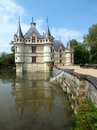 Azay le Rideau Castle Royalty Free Stock Image