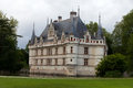 Azay le rideau castle in the loire valley france Stock Image
