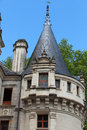 Azay le rideau castle in the loire valley france Royalty Free Stock Photography