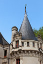 Azay le rideau castle in the loire valley france Royalty Free Stock Photo