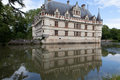 Azay le rideau castle in the loire valley france Royalty Free Stock Images