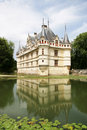 Azay-Le-Rideau Chateau Stock Photos