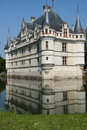 Azay le Rideau Chateau Stock Photos