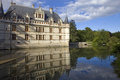 Azay le rideau chateau in loire valley france Royalty Free Stock Images