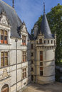 Azay-le-Rideau - Loire Valley - France Royalty Free Stock Photos