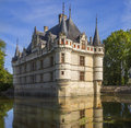 Azay le Rideau - Loire Valley - France Royalty Free Stock Image