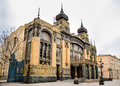 Azerbaijan State Academic Opera and Ballet Theater Royalty Free Stock Photo