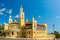 Azerbaijan State Philharmonic Hall on Royalty Free Stock Photo