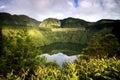 Azores: Green island Royalty Free Stock Photo