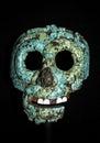 Aztec artefact taken at british museum in london Stock Photos