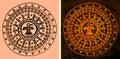 Aztec background