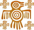 Aztec Bird Stock Image