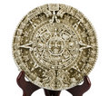 Aztec Calendar Depiction Royalty Free Stock Image