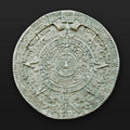 Aztec calendar latin america Stock Photos