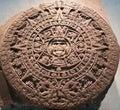 Aztec Calendar Stone Or Sun St...