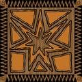 Aztec Design Royalty Free Stock Photo