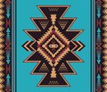 Native Southwest American, Indian, Aztec, Navajo seamless patter