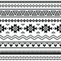 Aztec Mexican Seamless Pattern