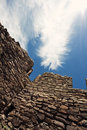 Aztec Ruins in New Mexico Royalty Free Stock Photos