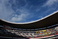 Aztec stadium mexico city mexico a general view of the tribune in the Royalty Free Stock Photography