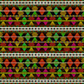 Aztec Style Pattern Royalty Free Stock Photo