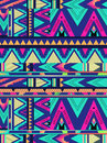 Aztec triangle pattern