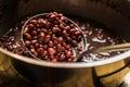 Azuki beans Royalty Free Stock Photo