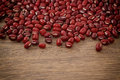Azuki beans , red beans Royalty Free Stock Photo